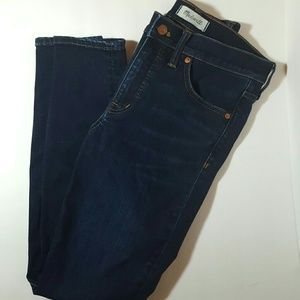 """Madewell 9"""" High-Rise Skinny Jeans size 28"""